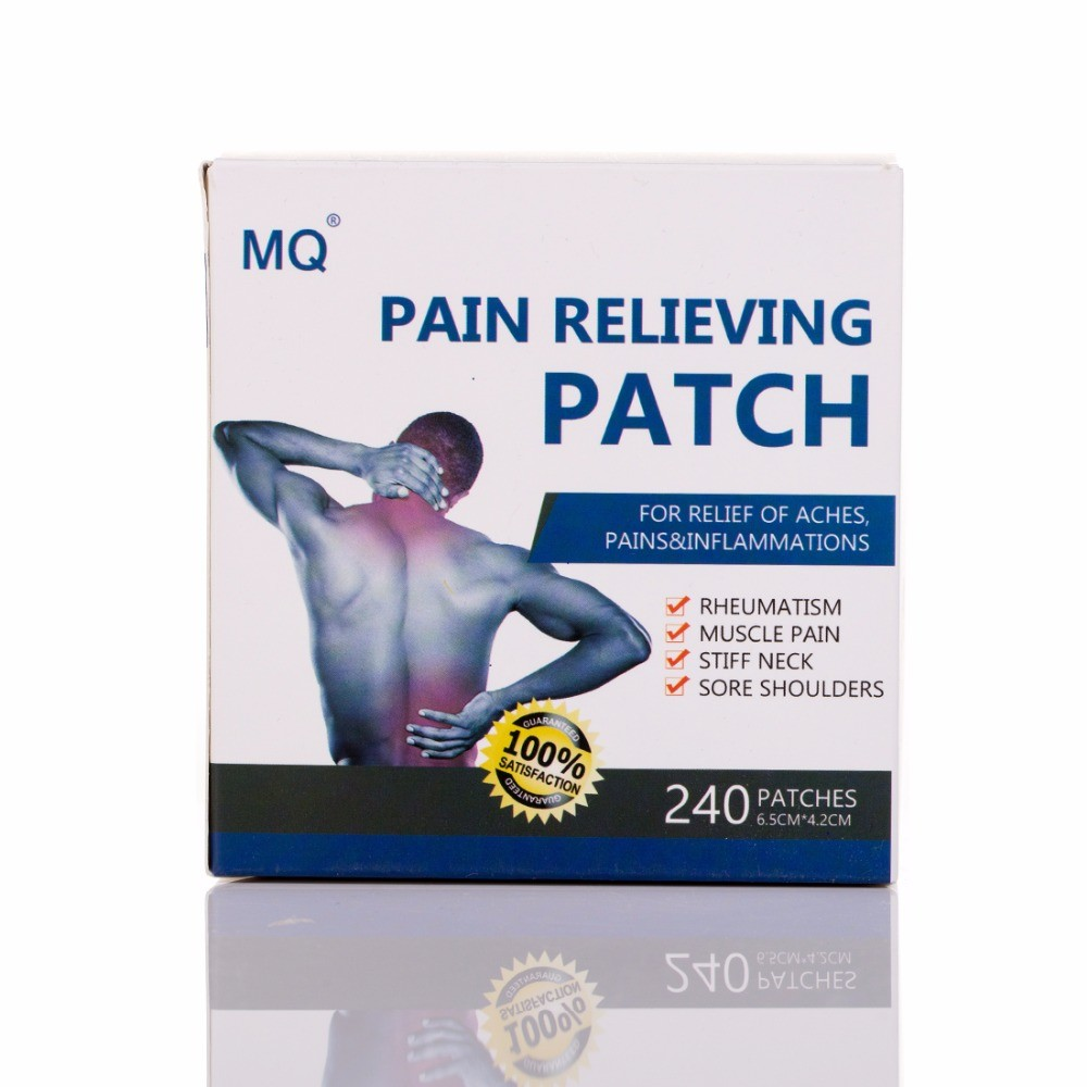 MQ® Medicated Plaster for Back Pain