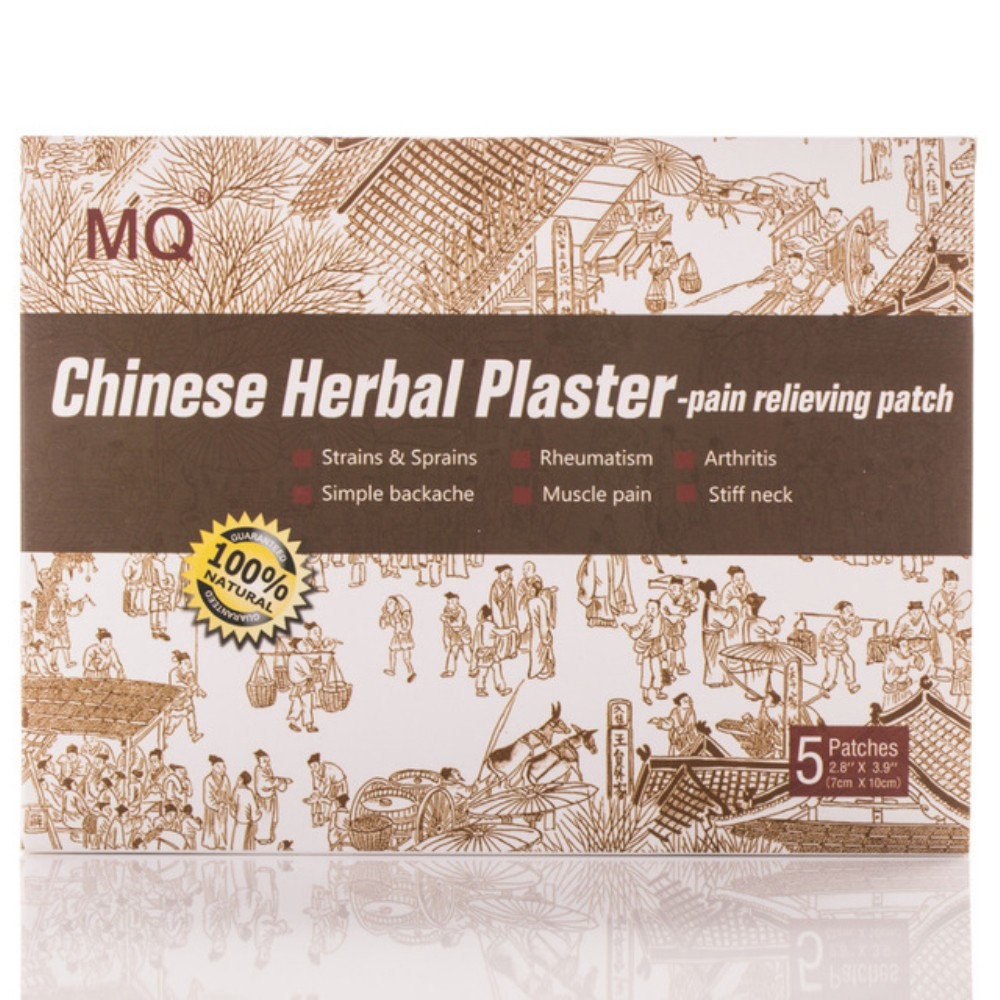 Chinese herbal pain patches